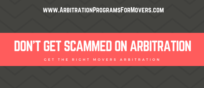 Need the best Moving Arbitration