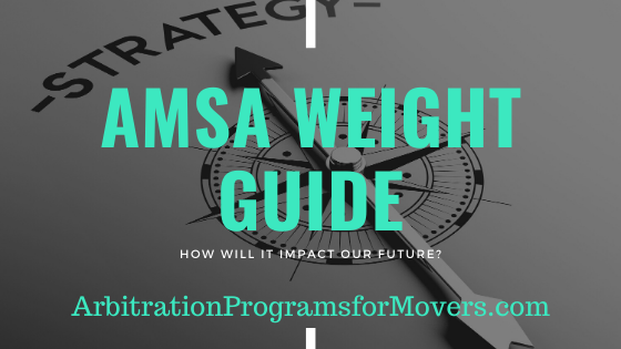 AMSA Weight Guide for Movers