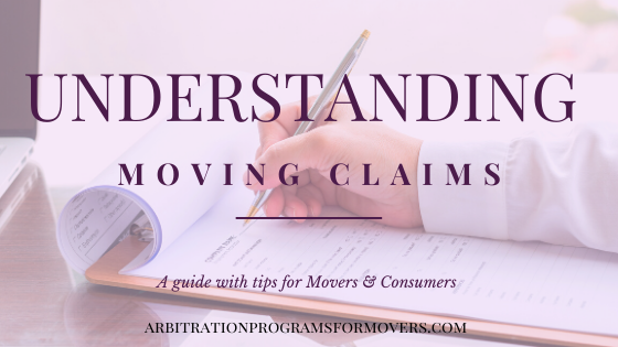 Understanding Moving Claim with movers