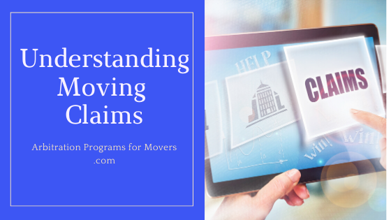 Understand moving company claim process